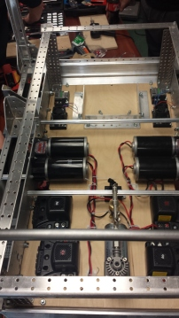 The final layout of the Robot