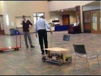 Creating a practice field for the robot