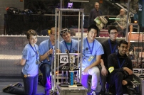 Drive team with our robot