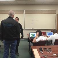 CAD team finishing designs