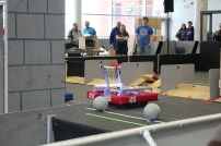The robot at the Week Zero Competition