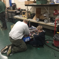Working with last year's robot